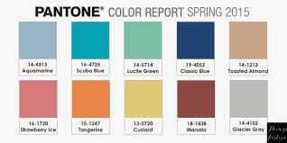 palette pantone color palette inspiration pantone spring 2015 color report things