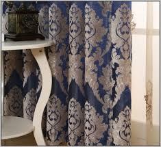 Blue And Gold Curtains Blue And Gold Curtains Ukhome Design Ideas Curtains Home In Blue