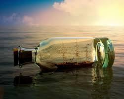 ship in a ship in a bottle