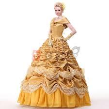 Ariel Halloween Costume Women Aliexpress Buy Belle Costume Princess Belle Beauty