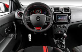 renault lodgy interior renault launched the new sandero rs 2 0 racing spirit limited edition
