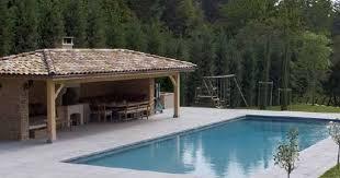 plan cuisine exterieure d ete le pool house de piscine