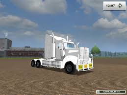 custom kenworth trucks kenworth t908 custom white v1 modhub us