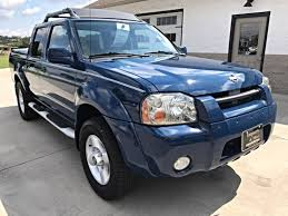 blue nissan truck 2001 nissan frontier se crew cab 2wd imports and more inc