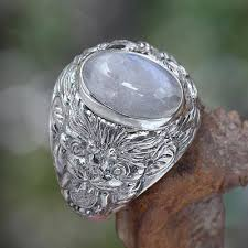art glass lion ring holder images Men 39 s sterling silver and rainbow moonstone ring lion charisma jpg