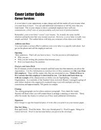 guide to writing cover letters image collections cover letter sample