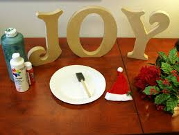 joy letters how to create christmas standing wood letters diy
