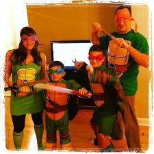 Turtle Halloween Costume Family Halloween Costume Idea Teenage Mutant Ninja Turtles