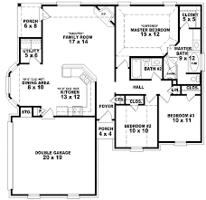 floor plan for 3 bedroom house simple house floor plans with measurements 3 bedroom modern