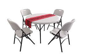 plastic round table and chairs plastic round folding tables and chairs hdpe hy r110 hy y60a