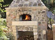 Pizza Oven Fireplace Combo by Stone Outdoor Pizza Oven Paver Patio And Retaining Wall Great