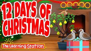 12 days of songs for children