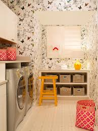 Laundry Room In Garage Decorating Ideas by 10 Clever Storage Ideas For Your Tiny Laundry Room Hgtv U0027s