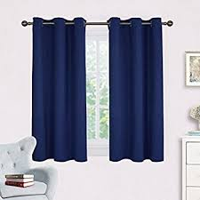 Draperies For Living Room Amazon Com Living Room Blackout Curtain Panels Nicetown Window