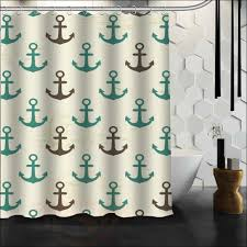 Navy And Green Curtains Blue And Tan Shower Curtain Overstock This Vintage Squares Blue