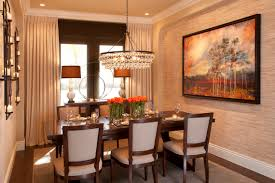 vibrant transitional family home dining room robeson design