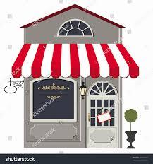 vector illustration little cute retro store stock vector 101618779