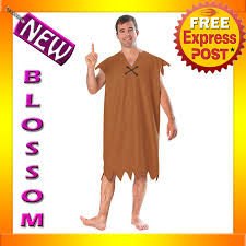 c781 the flintstones barney rubble flintstone mens halloween fancy