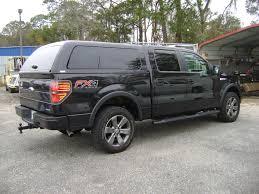 Ford F150 Truck Box - topper installed on ford f150 trucktopper truckaccessories