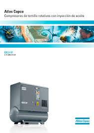 gx 2 u201311 atlas copco compressors usa catálogo pdf