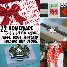 Homemade Gift Ideas by 22 Homemade Gift Wrap Ideas Bags Bows Gift Card Holders And