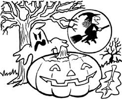 halloween free coloring pages 17