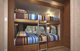Built In Bunk Bed Plans Custom Built Travel Trailers North American Rv