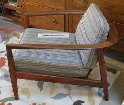 Modern Teak Wood Furniture Mid Century Danish Modern Folke Ohlsson Dux Teak Lounge Arm Chair