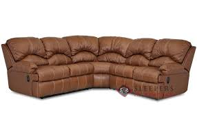 Leather Full Sleeper Sofa Customize And Personalize Milan True Sectional Leather Sofa By