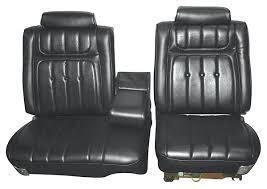 Custom Car Bench Seats Seat Upholstery Imported 1973 Riviera Custom W Split Bench Seat
