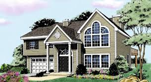 split entry house plans split level house plans home designs the house designers