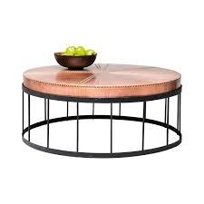 Copper Side Table Rivet Copper Coffee Table U2022 Woo Design