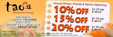 cuisine promotion penang special december promotion tao authentic cuisine