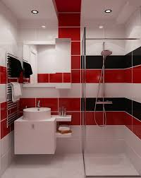 badezimmer rot kleine badezimmer einrichten 30 ideen für modernes bad