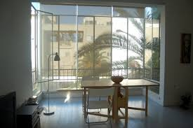 amazing loft ideas with open glass floor to ceiling windows with