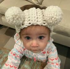 crochet headbands for babies baby crochet headbands big pom pom hair band infant