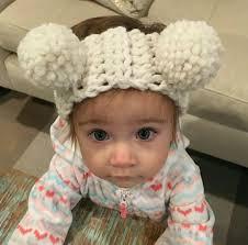 crochet headbands baby crochet headbands big pom pom hair band infant