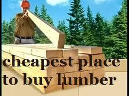 cheapest place to buy lumber