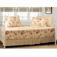 Rose Wood Bed Designs Bedroom Luxury Daybed Bedding With Beige Bed Skirt And Elegant