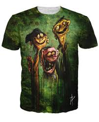 ed edd n eddy on bath salts all over print t shirt