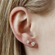 two earrings 25 best ideas about second piercing on earrings