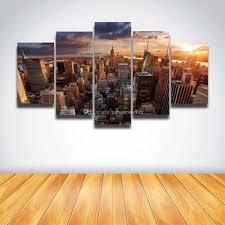 2017 new york manhattan city scene landscape canvas prints