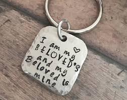 I Am My Beloved S And My Beloved Is Mine Ring I Am My Beloved Etsy