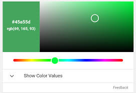 android color search now has a rgb hex color converter