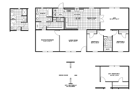 Schult Modular Home Floor Plans by Summit 28x60 56
