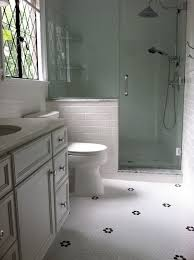 Grout Bathroom Floor Tile - bathroom floor tile with less grout white v off white