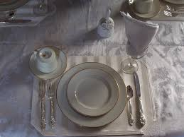 Informal Table Setting by White Stripe Linen Napkins 4 In A Set Fashion Home Products