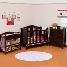 Crib And Changing Table Storkcraft 3 Piece Nursery Set Vittoria Convertible Crib Aspen