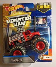 red diecast u0026 toy monster trucks ebay