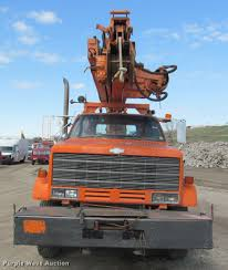 1986 chevrolet kodiak c6500 digger derrick truck item k398